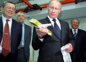 Россия взяла Америку за слиток
