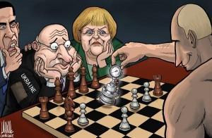 В очередной раз перевернута шахматная доска