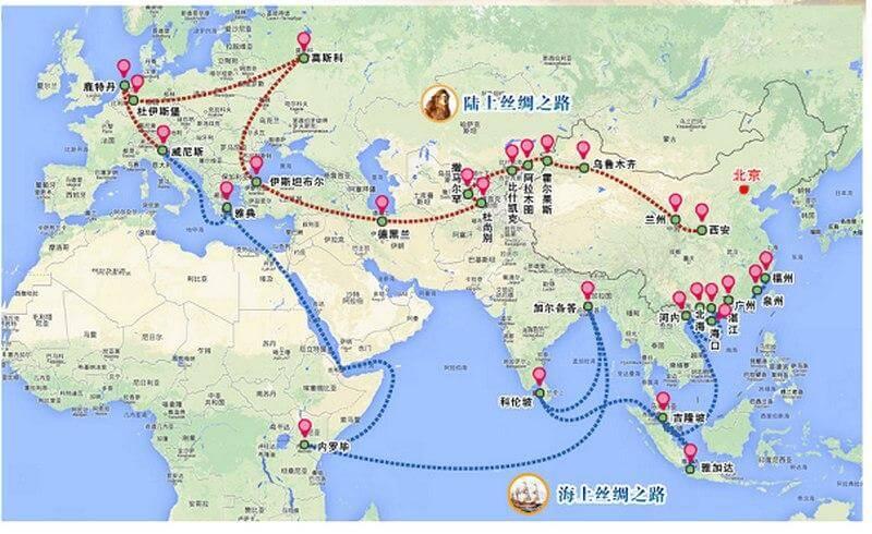 Создание политической структуры под южный коридор Нового Шелкового Пути из китая в Европу...