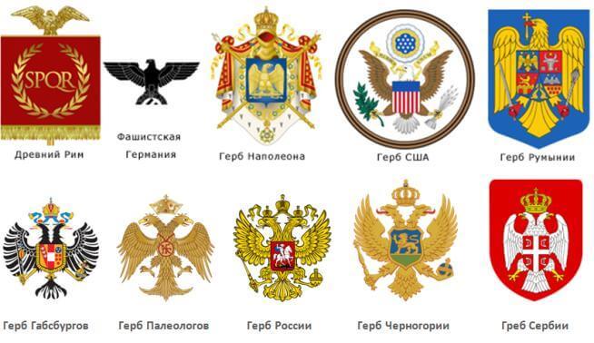 Гербы стран