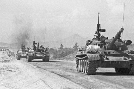 Советские танки в Афганистане, 1980 год