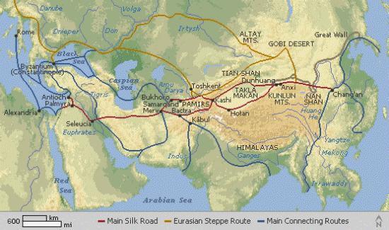 «Новый Шелковый путь» предлагаемый Китаем