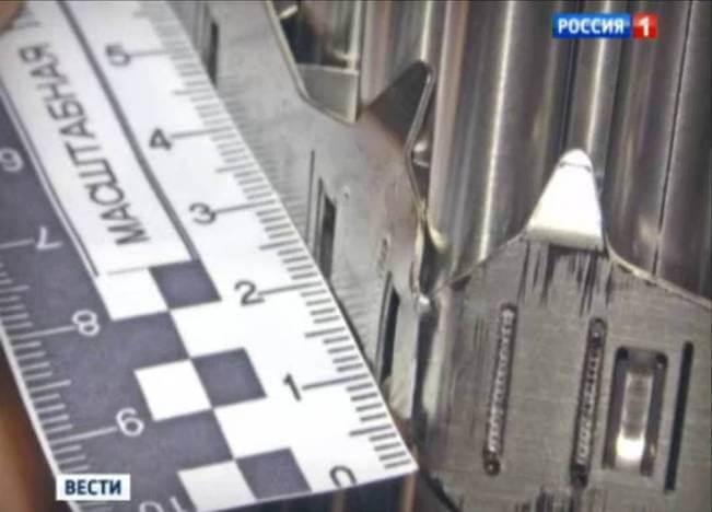 Фрагмент искривленного ТВС не-российского производства