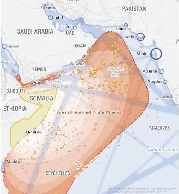 Территориальные воды СОМАЛИ