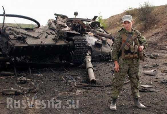 Разорванный танк Т - 64