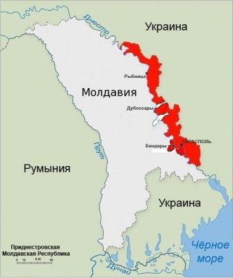 Границы Приднестровья