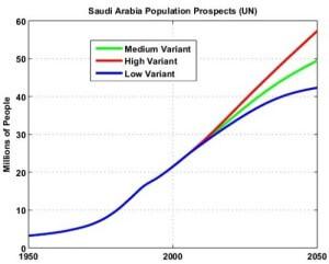 население Королевства вырастет ещё на 50% к 2040 году