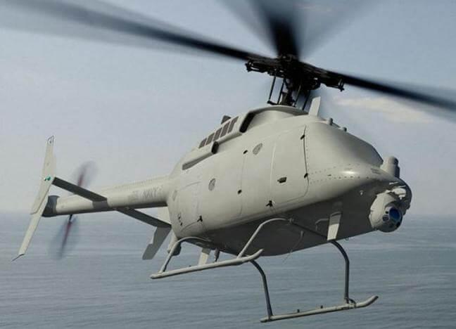 БЛА Northrop Grumman/Bell MQ-8C Fire Scout