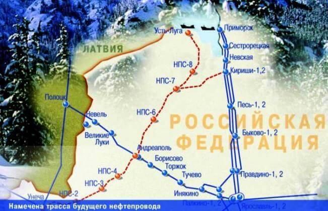 Балтийская трубопроводная сеть