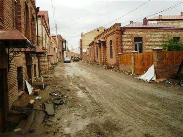 Улицы грузинского города Чиатура