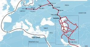 Международный транспортный «коридор партнёрства» из Индии через Иран и Кавказ – в Россию и Европу