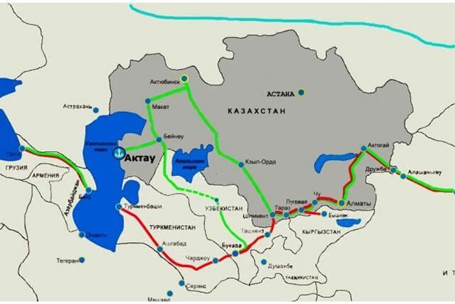 Транскаспийский международный транспортный маршрут (ТМТМ)