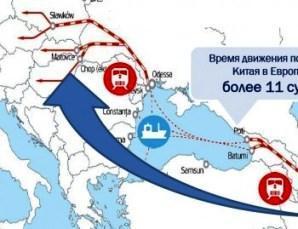 Для Китая транспортировка грузов в обход России может стать приоритетной
