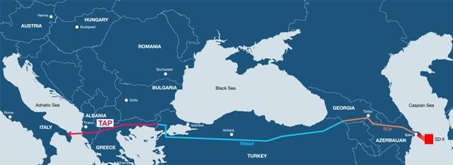 Trans-Anatolian Natural Gas Pipeline (Трансанатолийский газопровод)